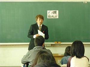租税教室 多治見市立脇之島小学校の様子1