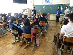 租税教室 瑞浪市立釜戸小学校の様子2