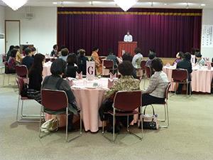 女性部会新春セミナーの様子1